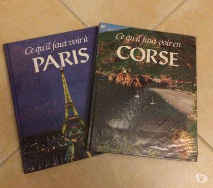 Photos Vivastreet Livres de voyage sur la Corse et Paris