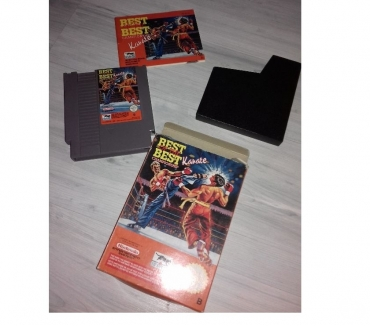 Photos Vivastreet JEU CONSOLE NES , BEST OFF THE BEST KARATE