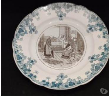 Photos Vivastreet Assiette en porcelaine de Badonviller