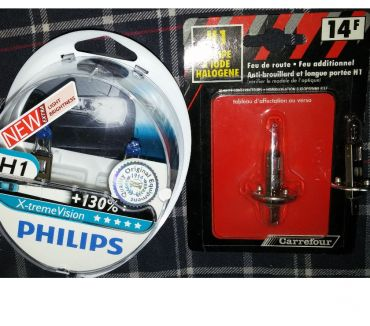 Photos Vivastreet Lot 4 ampoules H1 Philips Xtreme Vision +130