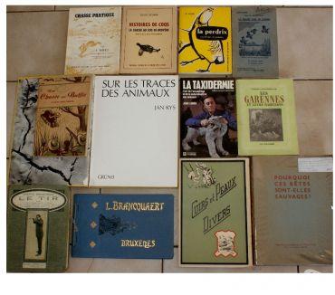 Photos Vivastreet 12 livres chasse armes taxidermie etc