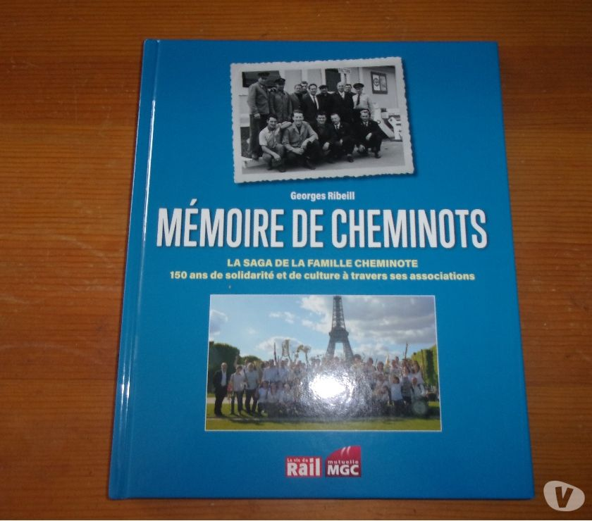Photos Vivastreet Livre Mémoire de cheminots (Neuf)