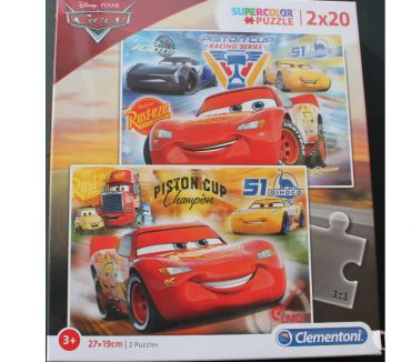 Photos Vivastreet Lot de 2 puzzles CARS Disney 20 pièces NEUF