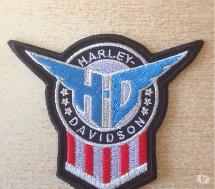 Photos Vivastreet écusson brodé harley biker 9x8 cm hd wings