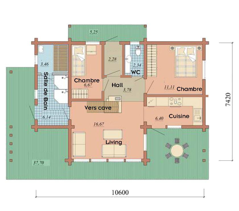 Photos Vivastreet Maisons en madriers massif ou rondin (RT2012) (BELIDA)