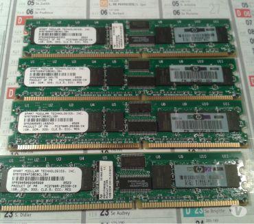 Photos Vivastreet 4 mémoire smart modular pc2700 1gb ecc