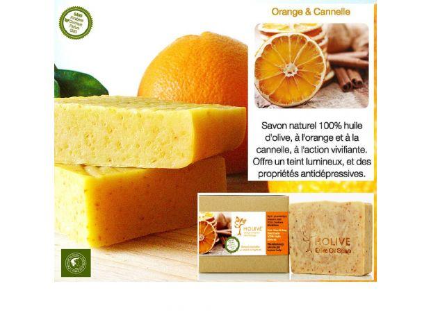Beauté - Santé Gironde Bordeaux - Photos Vivastreet Savon naturel 100% H.Olive Orange et Cannelle - 120 gr