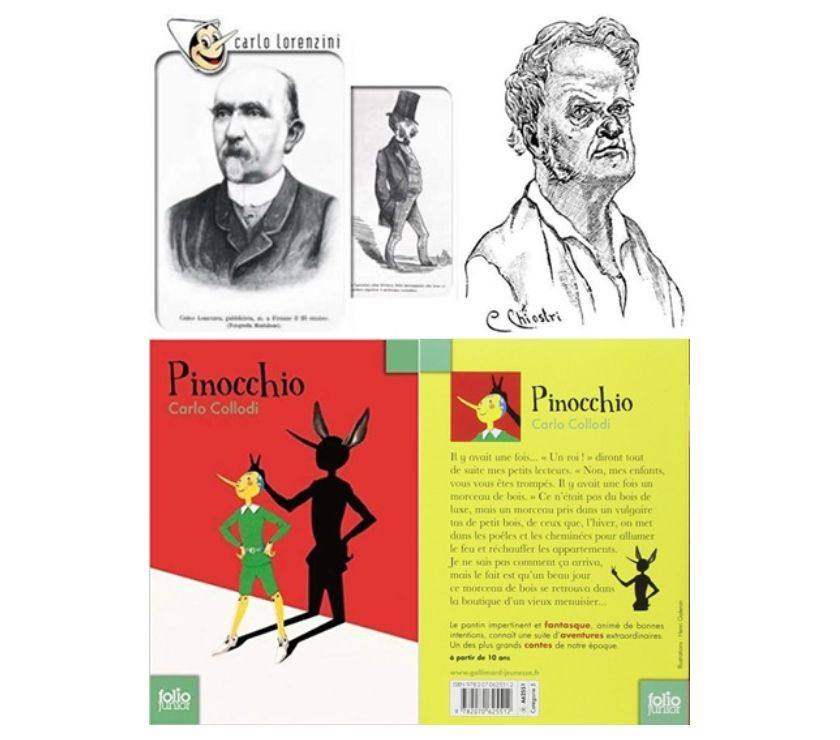 Photos Vivastreet Les aventures de Pinocchio, Carlo Collodi, Gallimard 1998.