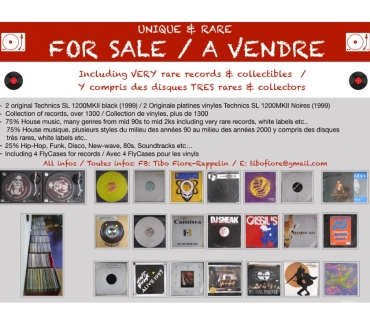Photos Vivastreet Collection rare de vinyls avec platines MKII