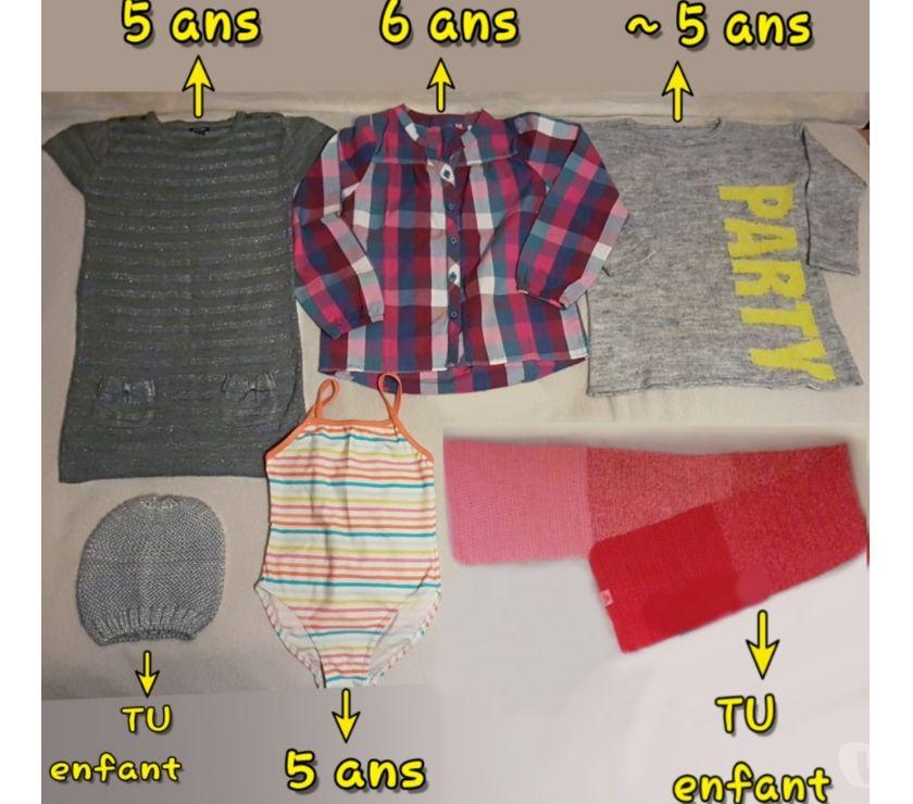 Vêtements occasion Gard Nimes - Photos Vivastreet jupe, robe, tunique, fille 3 à 5 ans