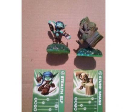 Photos Vivastreet Lot de 2 figurines skylanders spyro's pour wii 10e
