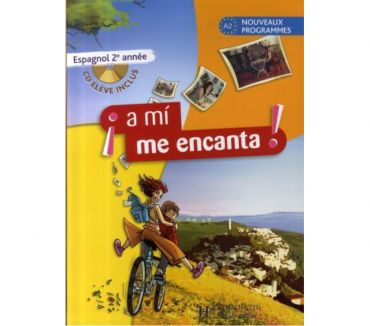 Photos Vivastreet A mi me encanta 2e année - Espagnol - Livre de l'élève