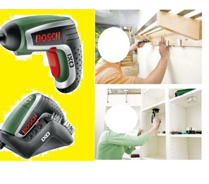 Photos Vivastreet Coffret visseuse Bosch avec ses accessoires