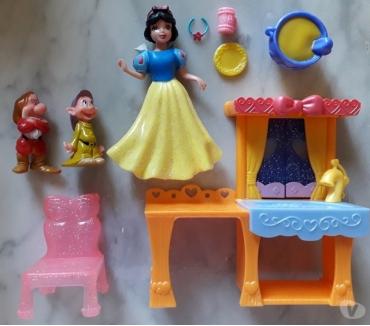 Photos Vivastreet Figurine Disney MagiClip : Blanche-Neige et 2 nains