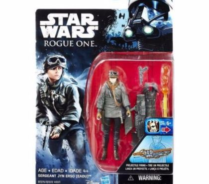 Photos Vivastreet Figurine star wars sergeant jyn erso boxed eadu