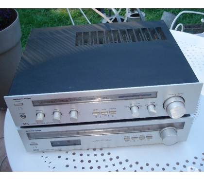 Photos Vivastreet ampli NEC AUA 7300E + tuner NEC AUT 8300E vintage