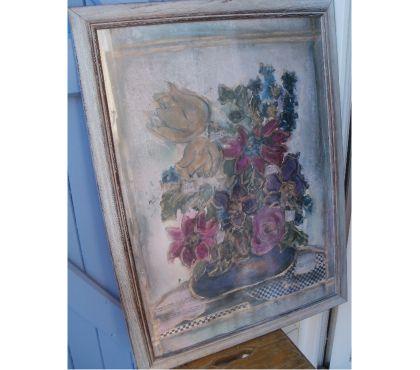 Photos Vivastreet Grand cadre 58cm x 78 cm bouquet de fleurs