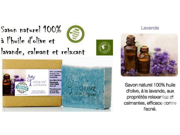 Beauté - Santé Gironde Bordeaux - Photos Vivastreet Savon naturel 100% H.Olive - Lavande - 120 gr