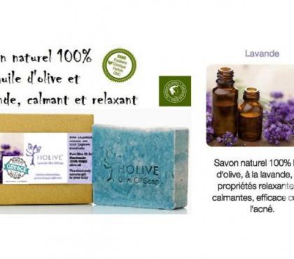 Photos Vivastreet Savon naturel 100% H.Olive - Lavande - 120 gr