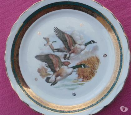Photos Vivastreet Assiette décorative canards sauvages - Limoges LUNEAU BEON