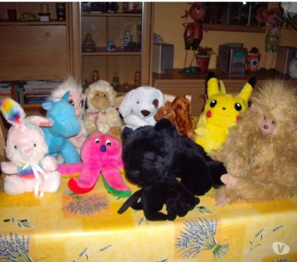 Photos Vivastreet LOT DE 10 PELUCHES
