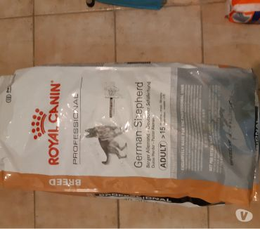 Photos Vivastreet Croquettes German Sheperd Royal Canin Berger Allemand, 60EUR
