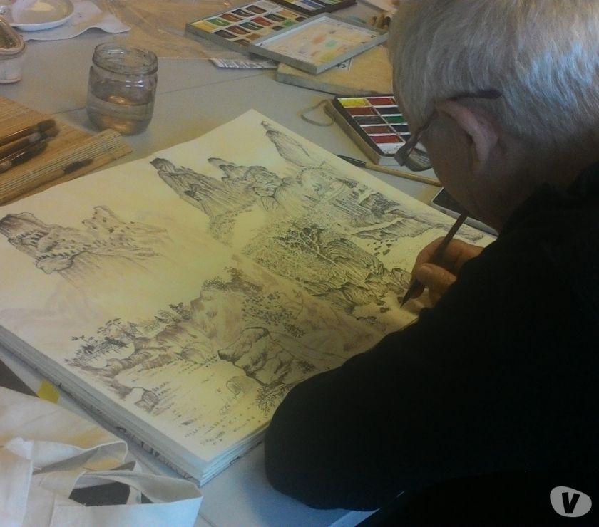 Photos Vivastreet cours de calligraphie et peinture chinoise
