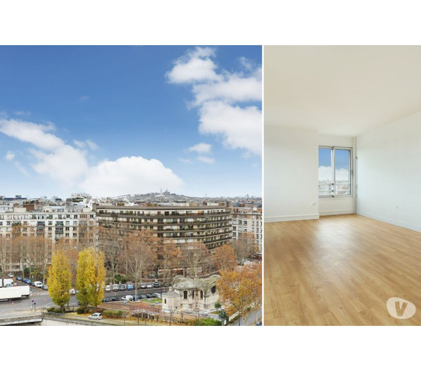 Photos Vivastreet Grand deux pièces de 57m² refait à neuf. Location vide.Vue...