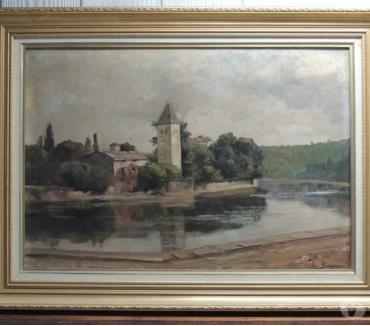 Photos Vivastreet Tableau, Peinture sur toile signée M.Bergeron