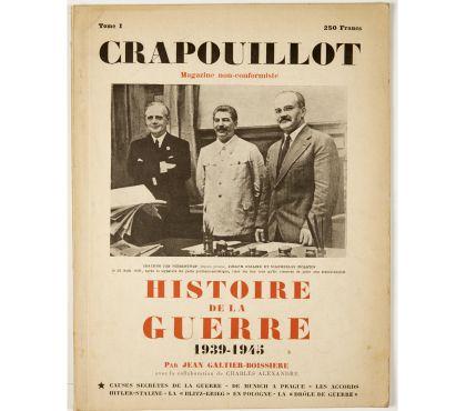 Photos Vivastreet Crapouillot. Histoire de la Guerre 1939-1945