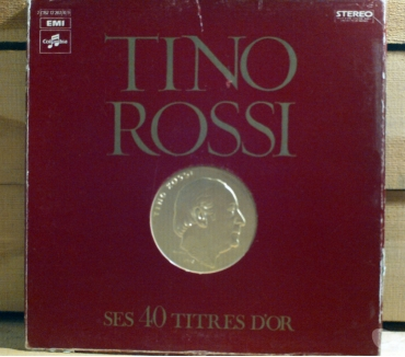Photos Vivastreet Tino ROSSI ses 40 titres d'or