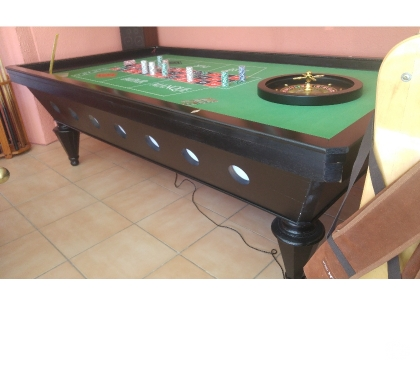 Photos Vivastreet table de jeux roulette de casino jmp billard