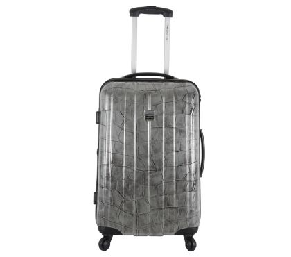 Photos Vivastreet FRANCE BAG Valise rigide 60 cm moyen séjour CANCUN Argent Cr