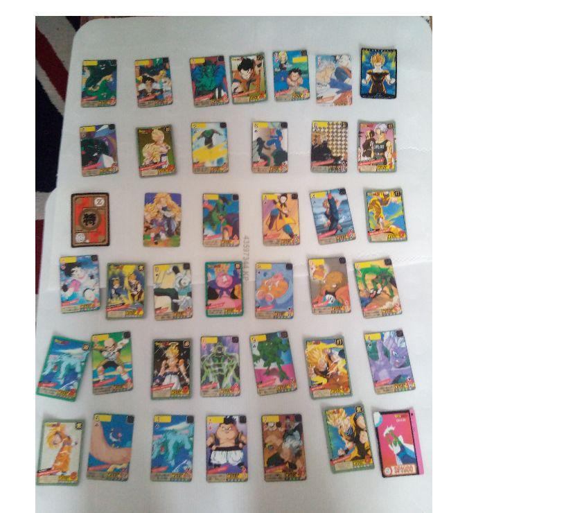 Photos Vivastreet Cartes trading cards dragon ball Z
