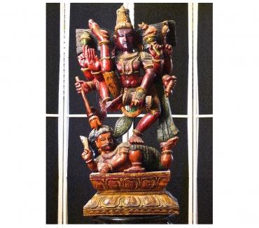 Photos Vivastreet STATUETTE En Bois du DIEU Indien KRISHNA