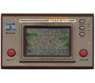 Photos Vivastreet LCD GAME & WATCH NINTENDO PR-21 SEUL - PARACHUTE