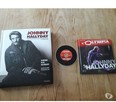 Photos Vivastreet Johnny Hallyday : livre + CD