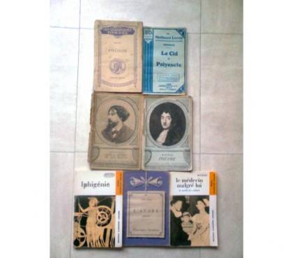 Photos Vivastreet classiques anciens Corneille, Platon, Racine - zoe