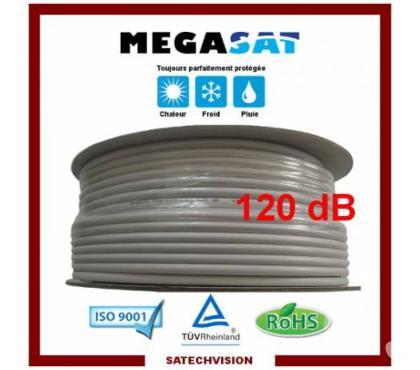 Photos Vivastreet Câble Coaxial 17 VAtCa Blindage 120 dB Longueur 100 m