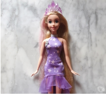 Photos Vivastreet poupée Barbie Disney princesse Raiponce