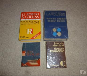 Photos Vivastreet 4 dictionnaires linguitisques