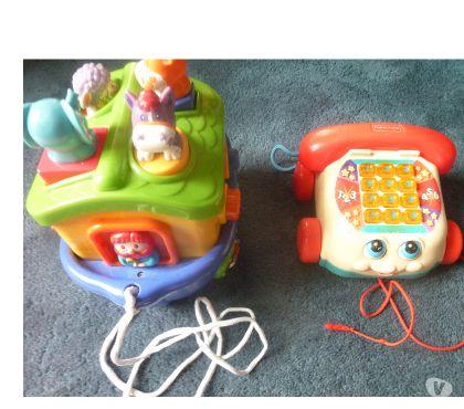 Photos Vivastreet Lot de 2 jouets à tirer pour bébé 9 mois 2 ans environ