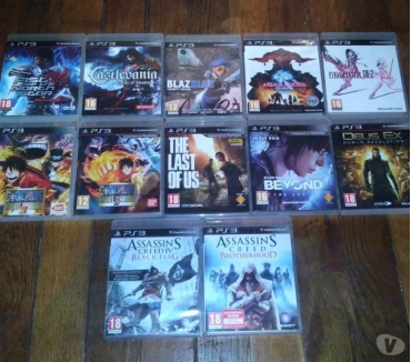 Photos Vivastreet Lot de 12 Jeux PS3