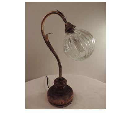Photos Vivastreet Lampe de chevet boule en verre