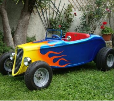 Photos Vivastreet Kit carrosserie hot rod automobile enfant buggy quad kart