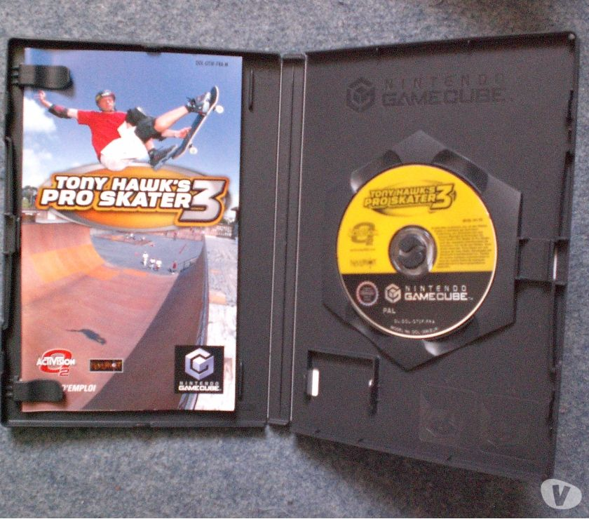 "Photos Vivastreet Jeu de GAMECUBE ""Tony Hawk's pro skater 3"""