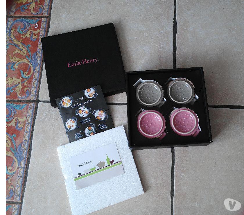 Photos Vivastreet LOT 4 MINI-COCOTTES céramique Emile HENRY_NEUVES