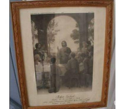 Photos Vivastreet Gravure E AZAMBRE - BOUASSE cadre bois 30.5 x 37.5