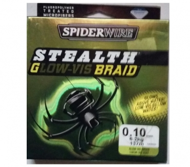 Photos Vivastreet tresse SPIDERWIRE Stealth Glow vis braid 0.10mm 137m NEUVE