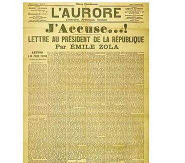 Photos Vivastreet L'AURORE du 13 janvier 1898 J'accuse d'Emile ZOLA